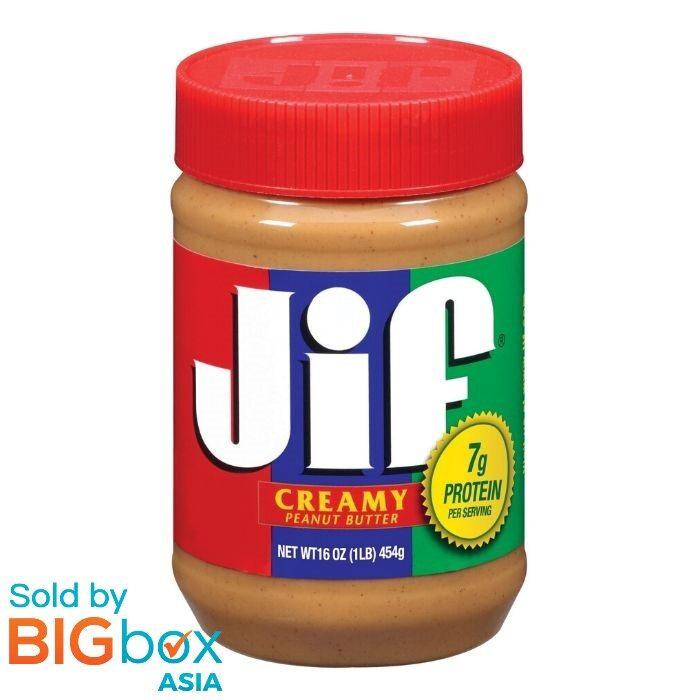 Jif Peanut Butter Creamy 454g - USA
