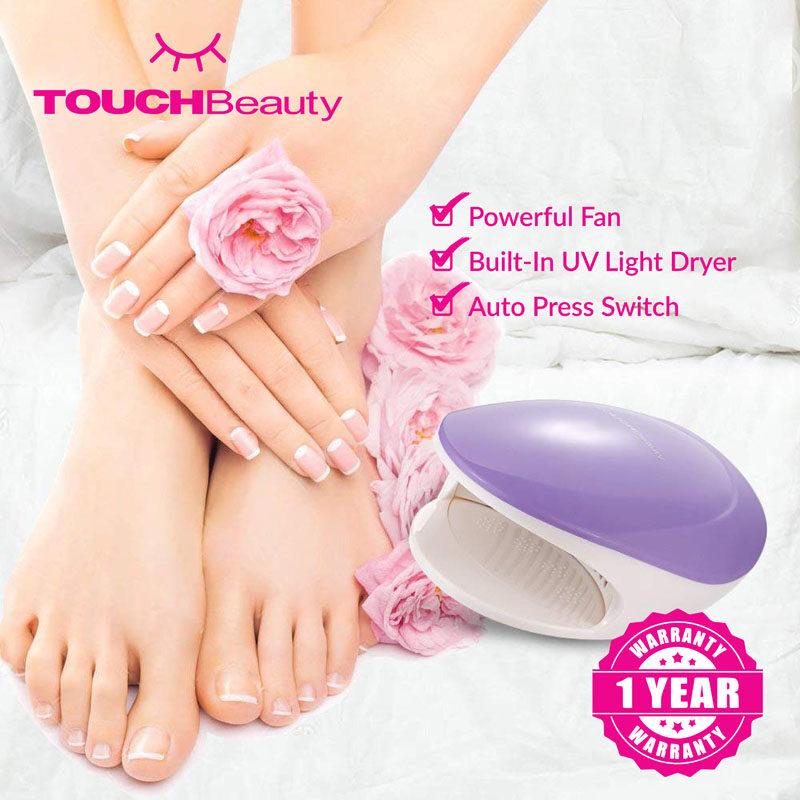 TOUCHBeauty gel Nail Polish Dryer TB-1439 2 in 1Nail Polish Dryer/ ProfessionalUV LED Nail Lamp Dryer Curing Light for Gel Nail Art/AirMODE-Forregularnailpolish/UVMODE-UVilluminationfornailglue