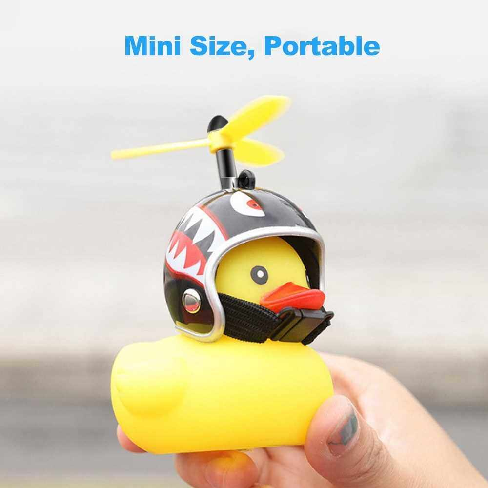 Best Selling Bicycle Lights Bell Cute Little Yellow Duck Handlebar Horn Lamp for Bike Motorcycle Car Accessories (7)
