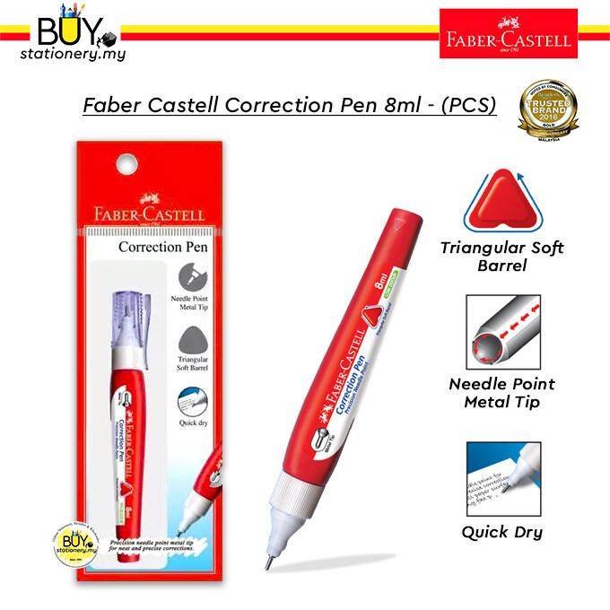 Faber Castell Correction Pen 8ml – (PKT)