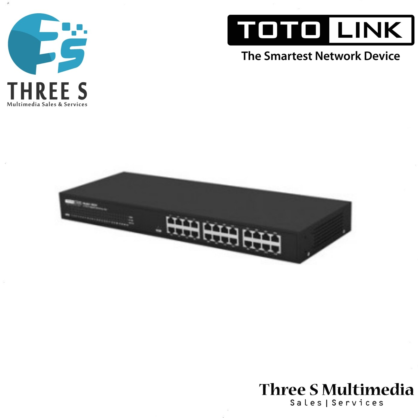 TOTO LINK 24-Port Gigabit Unmanaged Switch SG24