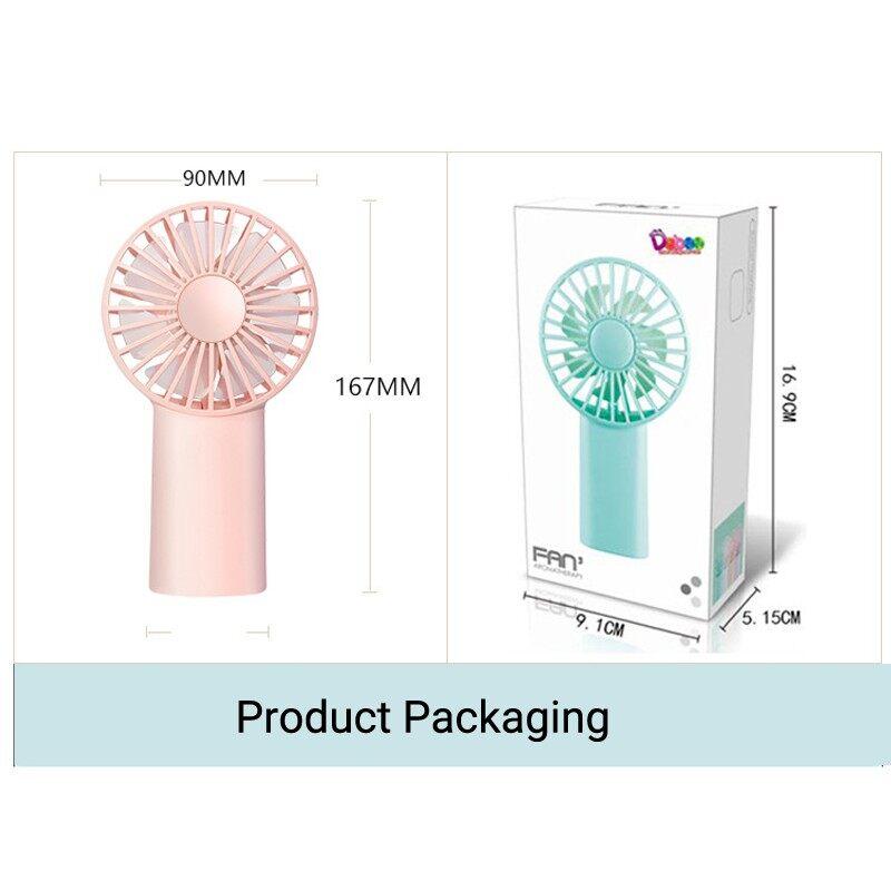 Aromatherapy PORTABLEMINI Fan USB Fan Handheld Fan Office Desktop Student Dormitory - WHITE / BLUE / PINK
