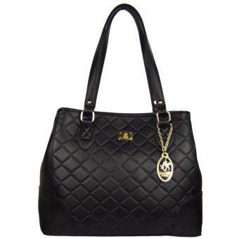 Harga 100% Original British Polo Summer Sale Elegant handbag Black(PL61119-01)