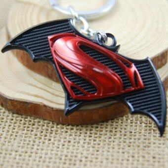 Harga 1pcs Movie Key Chain Superman VS Batman Keychain Men Gift Key ChainKey Holder(OVERSEAS)