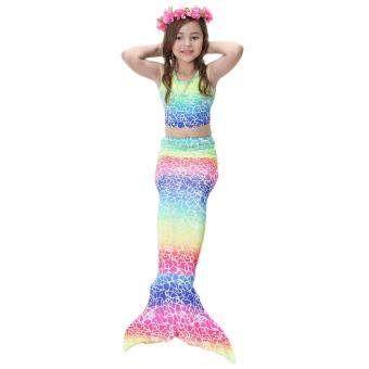 Cek Harga Dn Girls Summer Mermaid Tail Swimsuit Kids Girls Fancy