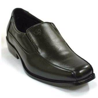 Harga AMBER WALK Men Dress Shoes Cover 1 Line- 640 (Black)