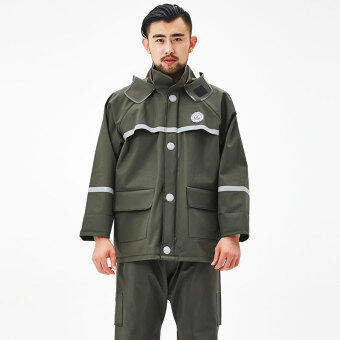 An outdoor riding electric car split motorcycle raincoat
