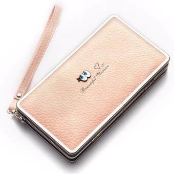 Baellerry Women Wallets Zipper Long Purses Card Holder Large Capacity Lady Clutches Women Coin Purse(
