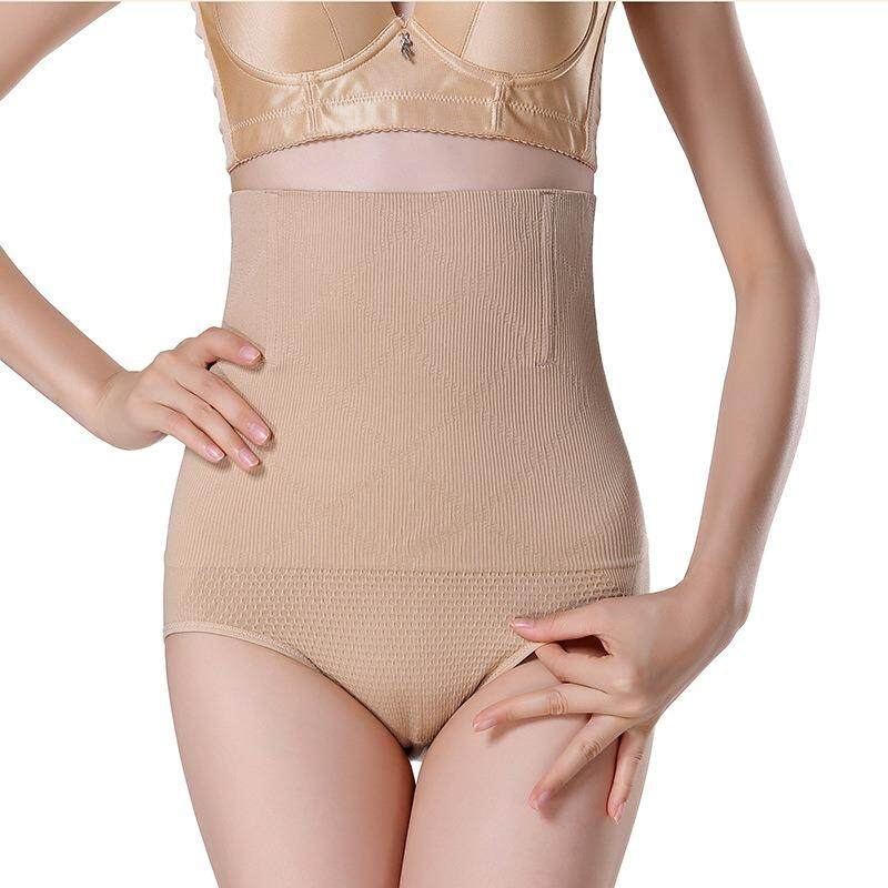 Bolster Store 3D High Waist Firm Tummy and Hips Lifting Panties Seamless Shapewear ( Nude )