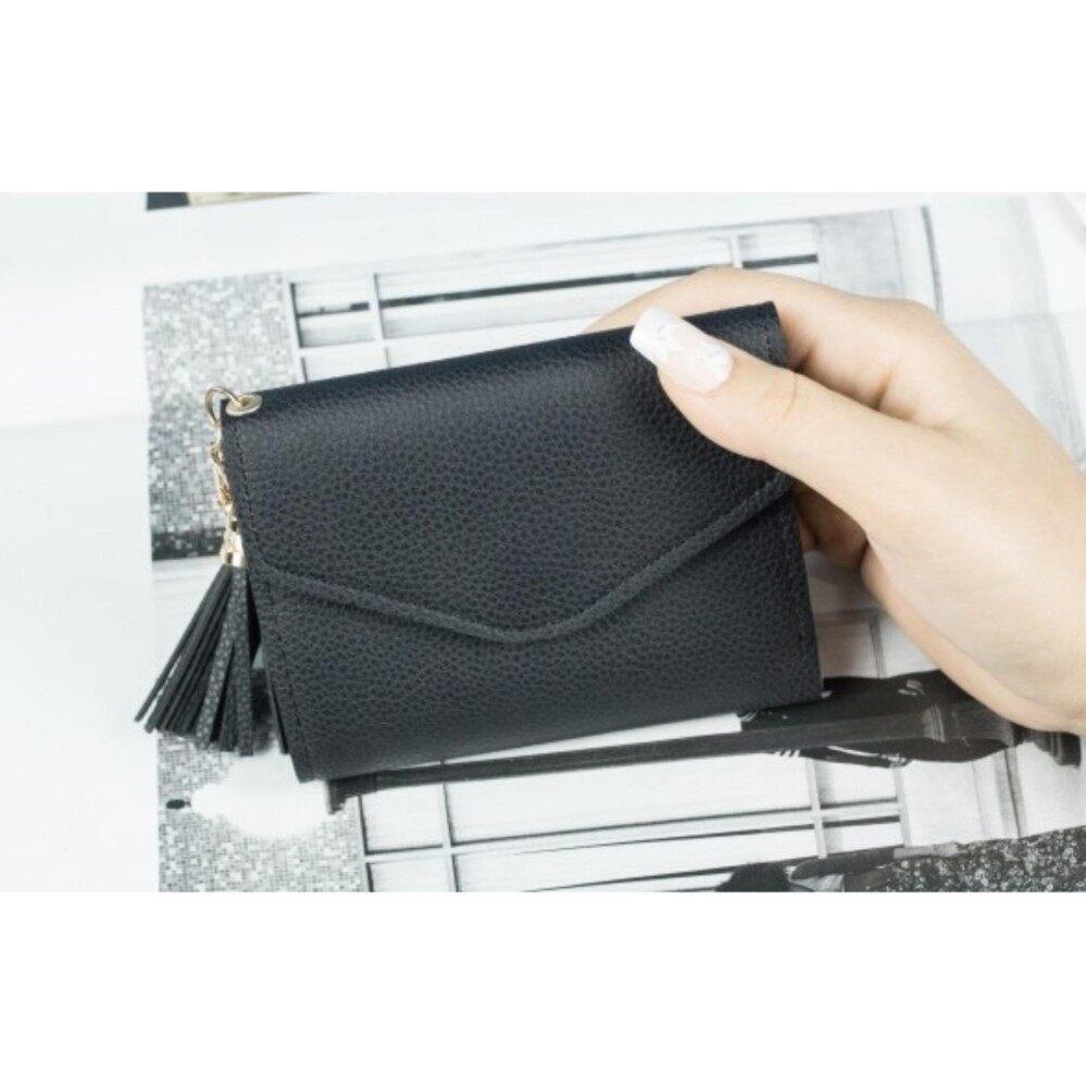 Bolster Store Women Ladies Tassel Wallet Purse Short Wallet Dompet Kecik Pendek Wanita