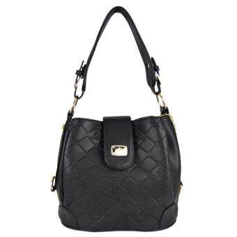 Harga British Polo Elegant Bucket Bag Black