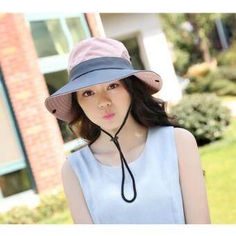c7ee547a70c10 Bucket Hat Sun Block Sun Hats Brim Trilby Summer Beach Adjustable Foldable  Cap For Men Women