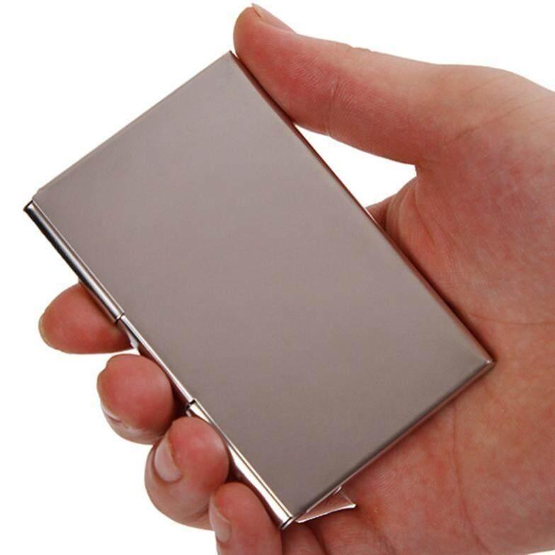 Business Name Card Holder For Men Women Stainless Steel Stylish Design