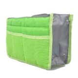 Buy 1 Free 1: MuWo Trendz Water Resistance Toiletry Tote traveling Bag with Vivid Colours for Her - Green
