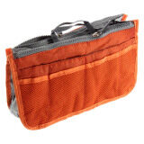 Buy 1 Free 1: MuWo Trendz Water Resistance Toiletry Tote traveling Bag with Vivid Colours for Her - Orange