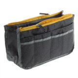 Buy 1 Free 1: MuWo Trendz Water Resistance Toiletry Tote traveling Bag with Vivid Colours for Him - Grey