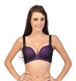Caely Purple Pink Label Bra