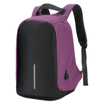 Men's multi-functional travel backpack for men backpack (Purple to send connection line) (Purple to send connection line)