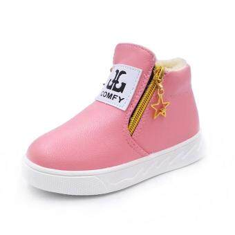 Children Casual Sport Boy Girls Fashion Martin Boots Sneakers Autumn Shoes  PK 21 846fb8cf87
