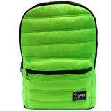 Disney Retro Mickey Puffed Waterproof Notebook Backpack-DRB1472 (Green)