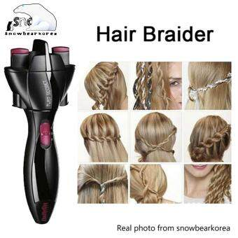 Fitur Twist Secret Automatic Hair Twister Quick And Easy Braids