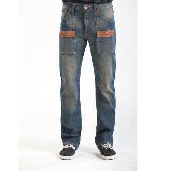 Edwin 505 Blue Trip Men Jeans (Dark Blue)