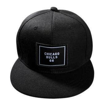 Harga Fashion Unisex Snapback Adjustable Baseball Cap Black