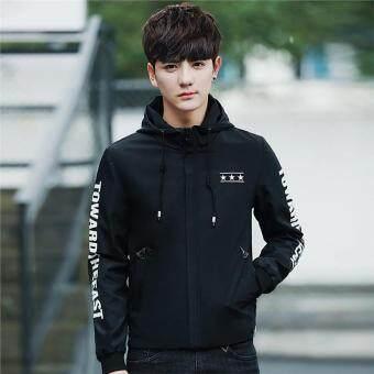 Fleece Hoodie Fashionable Full Zip Casual Hoody Jacket Hoodie Jakcet for  Men (black) d64f9391f4