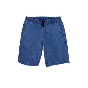 F.O.S NAVY & NAVY MEN BASIC BLUE SHORTS