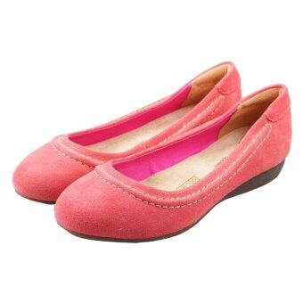 Hush Puppies Comfy Slip Ons (Pink)