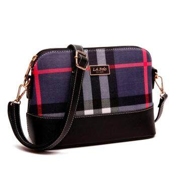 Harga LA POLO LA 20609 CROSS BODY BAG (BLUE/BLACK)