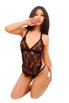 Harga Simple Sexy Lace Large Plus Size Lingerie Nightwear L1085-B