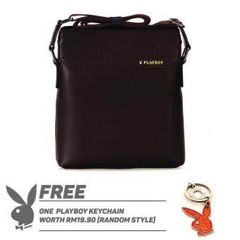 Harga PLAYBOY MEN COFFEE SLING BAG