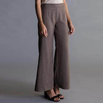 Harga MC Vogue Brown Wide Legged Trousers