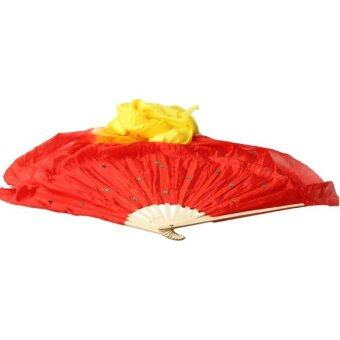 Harga Color Gradient Flame Dancing Silk Fan