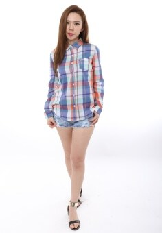 Harga Abby Plaid Shirt