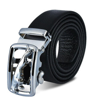 Harga Men's Genuine Leather Belt Fashion Belts 130cm