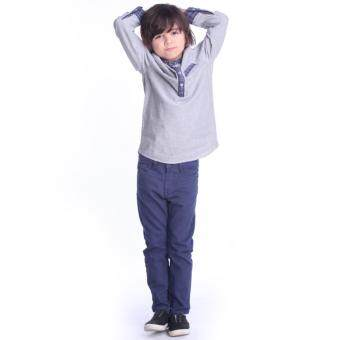 Harga East India Company Cotton Twill Long Pants