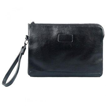 Harga SoKaNo Trendz M002 PU Leather Handy Pouch- Black