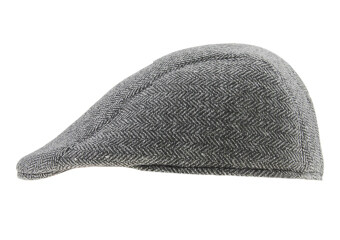 Harga Women Men Wool Tweed Cabbie Gatsby Flat Ivy Cap Irish Driving Newsboy Hat,Grey