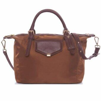 Harga Desire MK alike Duo Madison Tote Bag -Golden Brown