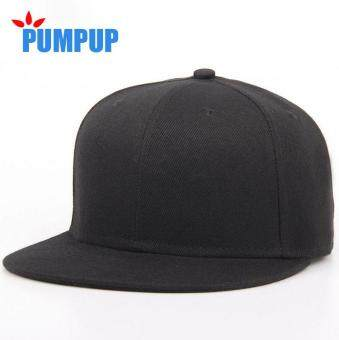 Harga New Men Women Baseball Cap Bones Snapback HipHop Flat Hat Male Female Casquette Solid Color Plain Baseball Caps Wholesale