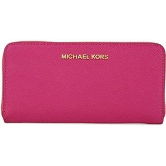 Harga Michael Kors Saffiano Leather Wallet ( Pink )