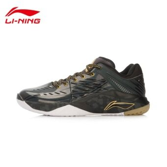 Harga Lining Badminton shoes AYTL065 Black
