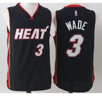 Harga Men's NBA Basketball Jerseys Miami Heat #3 Dwyane Wade