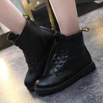 Harga [PRE-ORDER] Women Winter Martin Lace Boots