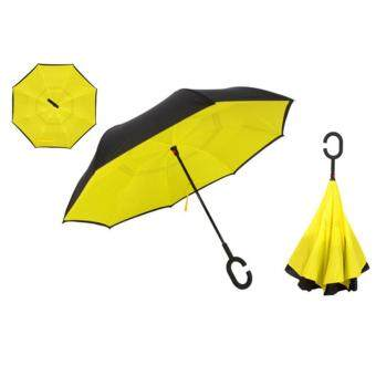 Harga Jiayiqi Unique Inverted Inside-Out Umbrella With C-Hook Handle