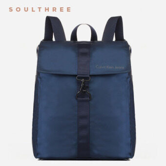 Harga CALVIN KLEIN Nyssa Hook Lock Backpack (Navy)
