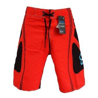 Harga Mens Board Shorts Surf Beach Swim Pants Casual Summer Swimwear Beach Pants Red