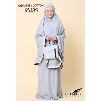 Harga TELEKUN STORY Ayra Collection [Grey]